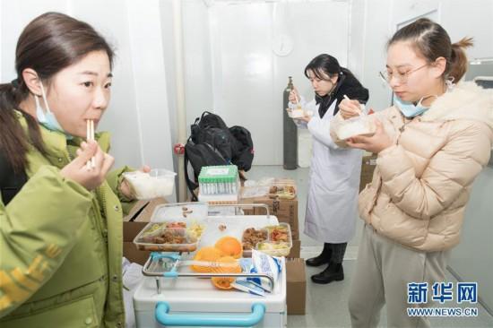 探访武汉雷神山医院首批医疗队