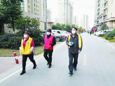 南京栖霞齐民路社区:党员带头守护社区家园