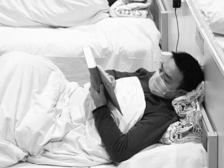 """""""方舱医院""""读书年轻人火了阅读,传递出力量和希望"""