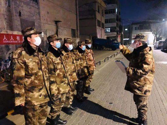 【万众一心 阻击疫情】兴庆区民兵用实际行动书写责任与担当