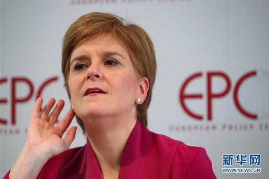(国际)(1)苏格兰政府首席大臣就苏格兰前景在欧盟游说