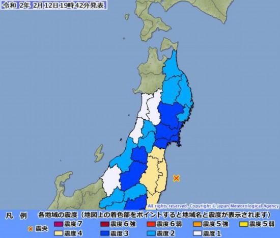新潟 地震 震源 地