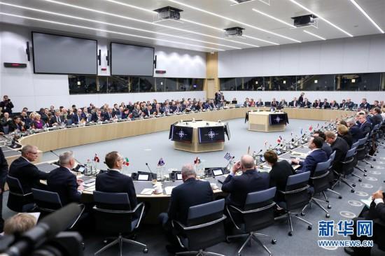 (国际)(1)北约国防部长会议在布鲁塞尔闭幕