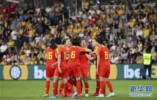 (体育)(9)足球――东京奥运会女足预选赛:中国队平澳大利亚队
