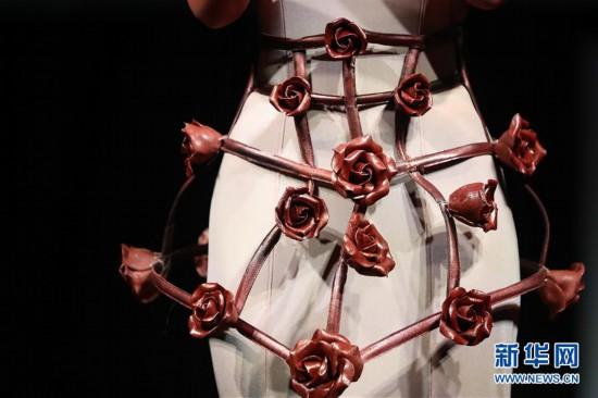(国际)(1)第七届布鲁塞尔巧克力沙龙揭幕