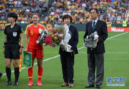 (体育)(6)足球――东京奥运会女足预选赛:中国队平澳大利亚队
