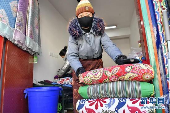 (社会)(5)拉萨:就近购物迎藏历新年