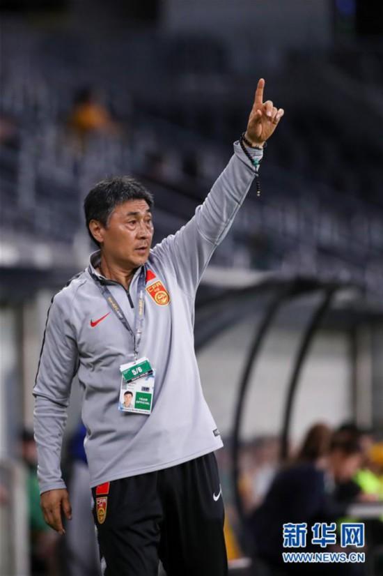 (体育)(5)足球――东京奥运会女足预选赛:中国队平澳大利亚队