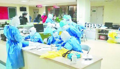 福建省立醫院支援武漢醫療隊進駐