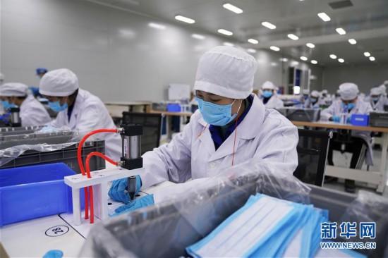 (聚焦疫情防控)(1)从造汽车到产口罩――上汽通用五菱转产助防疫