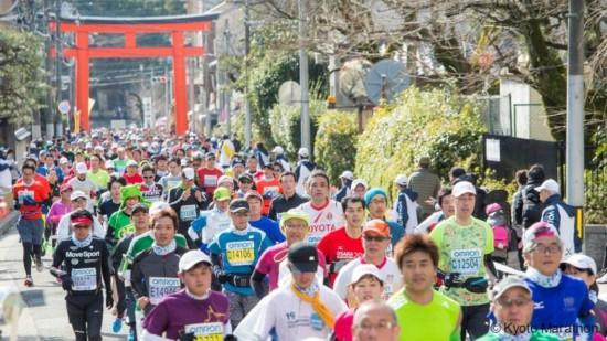 京都マラソン(資料)。