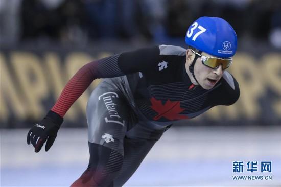 (体育)(3)速度滑冰——单项世锦赛:男子集体出发赛况