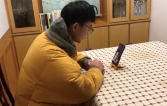 马驰老师与梅润峰交流