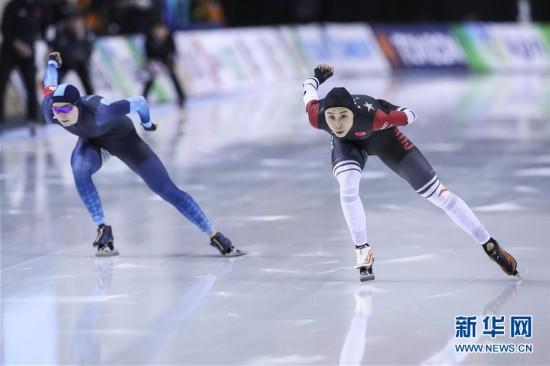 (体育)(7)速度滑冰——单项世锦赛:女子1500米赛况