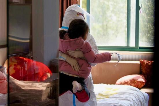 CHINA-ANHUI-NOVEL CORONAVIRUS-TEMPORARY MOTHERS (CN)