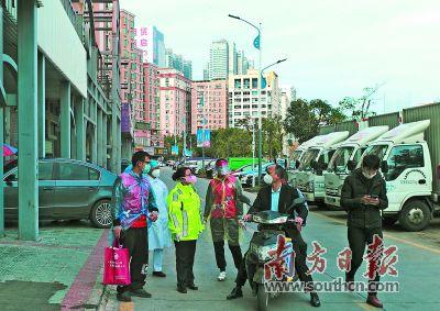 深圳西乡:在防疫中体现城市文明