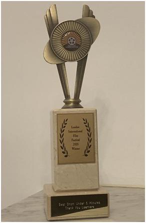 网易有道上市短片《感谢学习者》获伦敦国际电影节最佳5分钟内短片奖