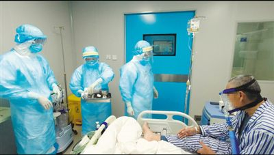 夜访隔离病区