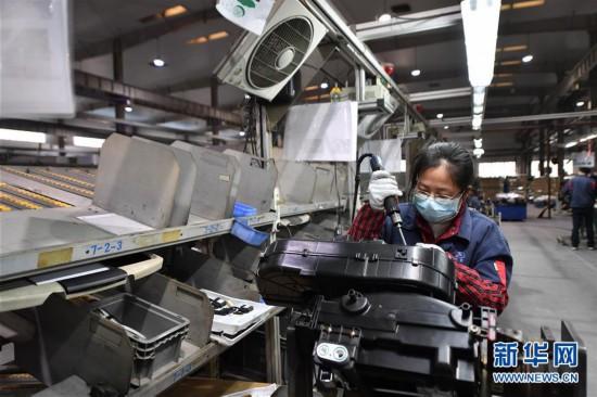 (經濟)(1)江西南昌:安全防疫 平穩生產
