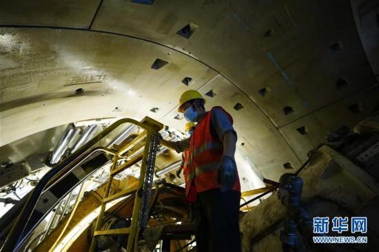 (經濟)(1)南昌地鐵項目建設防疫兩不誤