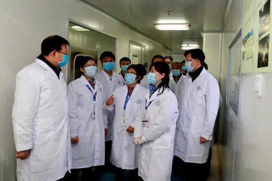 用檢驗技術搭建防疫藥械安全屏障