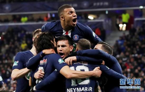 法国杯:巴黎圣日耳曼晋级决赛