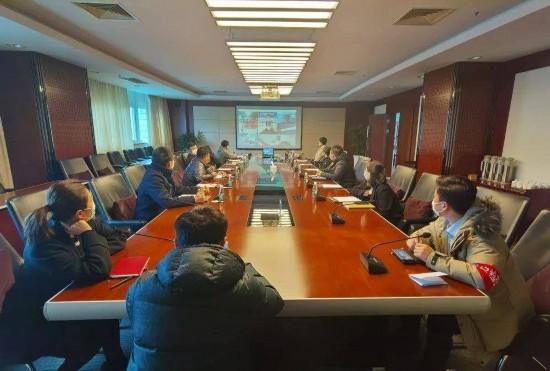 南京市投資促進局組織開展網絡招商專題培訓。南報融媒體記者 胡睿 攝