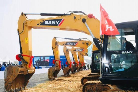 浦口區2020年一季度重大項目集中開工儀式現場。南報融媒體記者 崔曉 攝