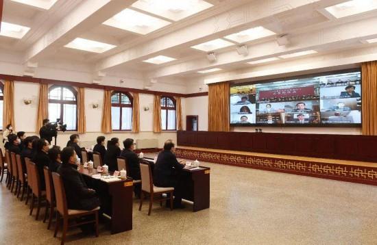2020年南京市重點招商項目雲簽約儀式主會場。南報融媒體記者 崔曉 攝