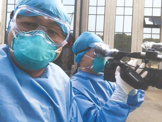 """安徽新闻战线的逆行者:传递抗疫最强音,弘扬战""""疫""""正能量"""