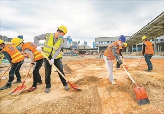 海立方游戏官网皇岗口岸重建项目加快施工