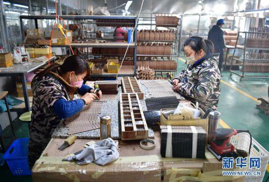 (经济)(2)陕西城固:八成以上企业复工
