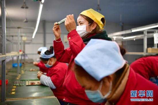 (经济)(3)陕西城固:八成以上企业复工