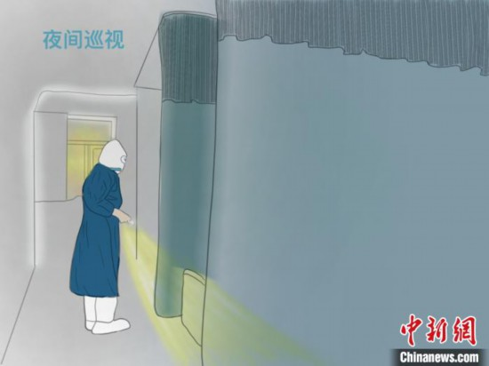 武漢支援の50日間を24枚の手描きイラストで描いた広東省の看護師