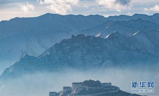 (美丽中国)(2)布宫雪景