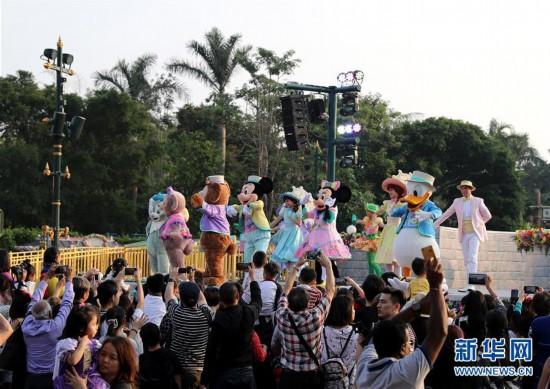 (图文互动)(1)香港迪士尼2019财政年度净亏损达1.05亿港元