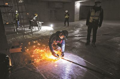 北京城南地区66个重点项目陆续复工