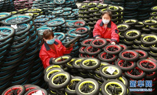 #(脱贫攻坚)(1)河北广宗:企业带动扶贫 产业拉动增收