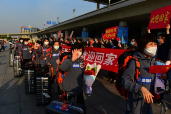 無錫支援湖北養老服務隊3月23日返回江蘇