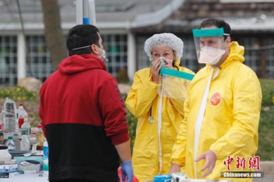 全球确诊病例超33万:德总理居家隔离多明戈确诊感染