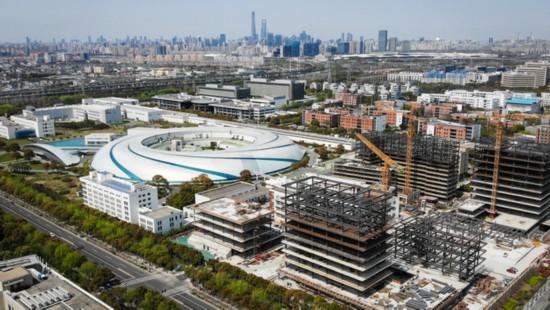 科学设施恢复建设上海交通大学张江科学园工程复工中
