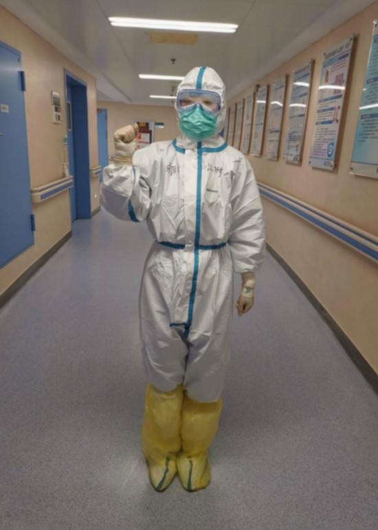 無錫援湖北護士:女兒,媽媽是換一種方式守護你
