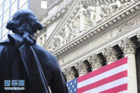 (国际)(1)纽约股市三大股指24日暴涨