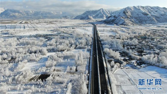 (美丽中国)(2)西藏:雅江雪景美如画