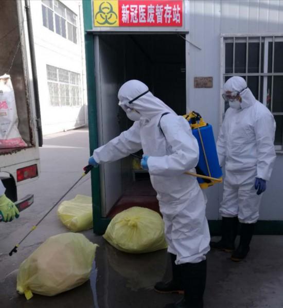 宁夏249.27吨疫情医废实现100%安全处置