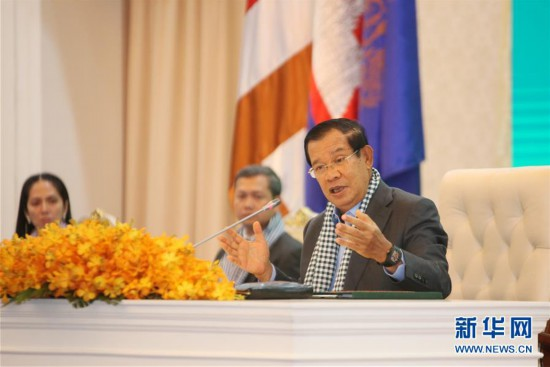 (国际疫情)洪森:中国医疗专家组和物资对柬埔寨抗击疫情非常重要