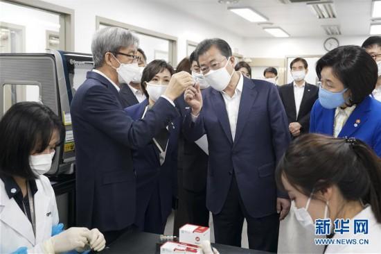 (国际疫情)(1)文在寅说特朗普向韩国提出医疗物资支援请求