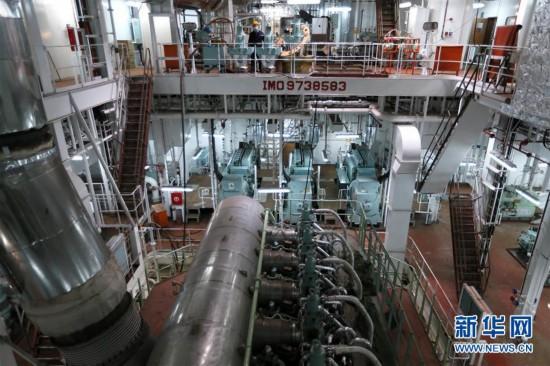 #(经济)(3)山东即墨:造船企业加紧赶制海外订单