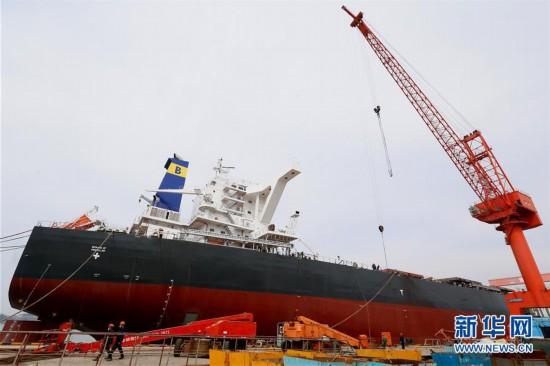#(经济)(4)山东即墨:造船企业加紧赶制海外订单