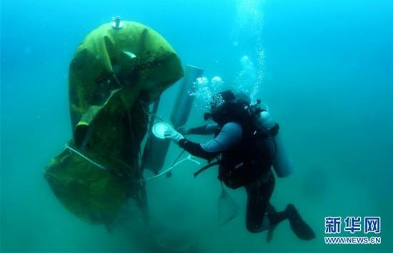 (环境)(9)海南三亚:海洋牧场复工忙